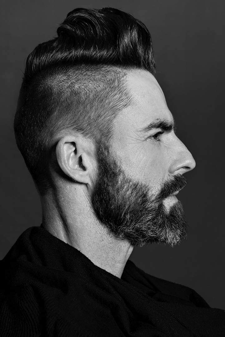 Men - Coiffure Award - Cut by Arjen Huffels